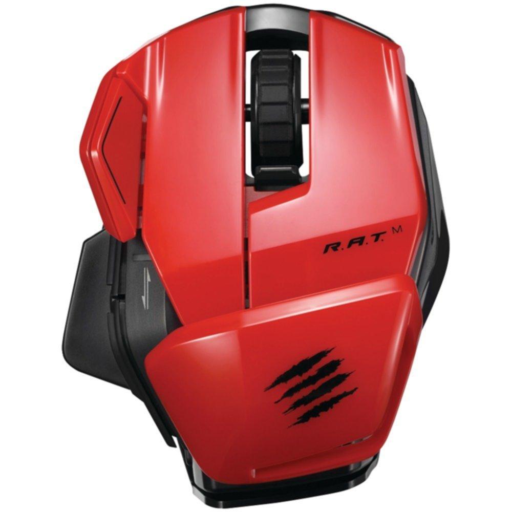 Madcatz mcb437170013 / 04 / 1 Office r.a.t. ( TM ) Mワイヤレスモバイルマウス(レッド)機器コンピュータアクセサリ   B01AVC74VO