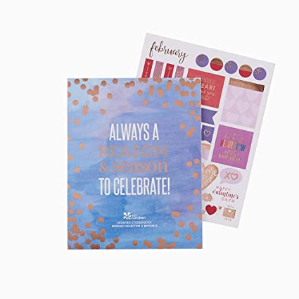 image regarding Erin Condron referred to as Erin Condren Designer Sticker E book - Every month Sticker Reserve Version 3