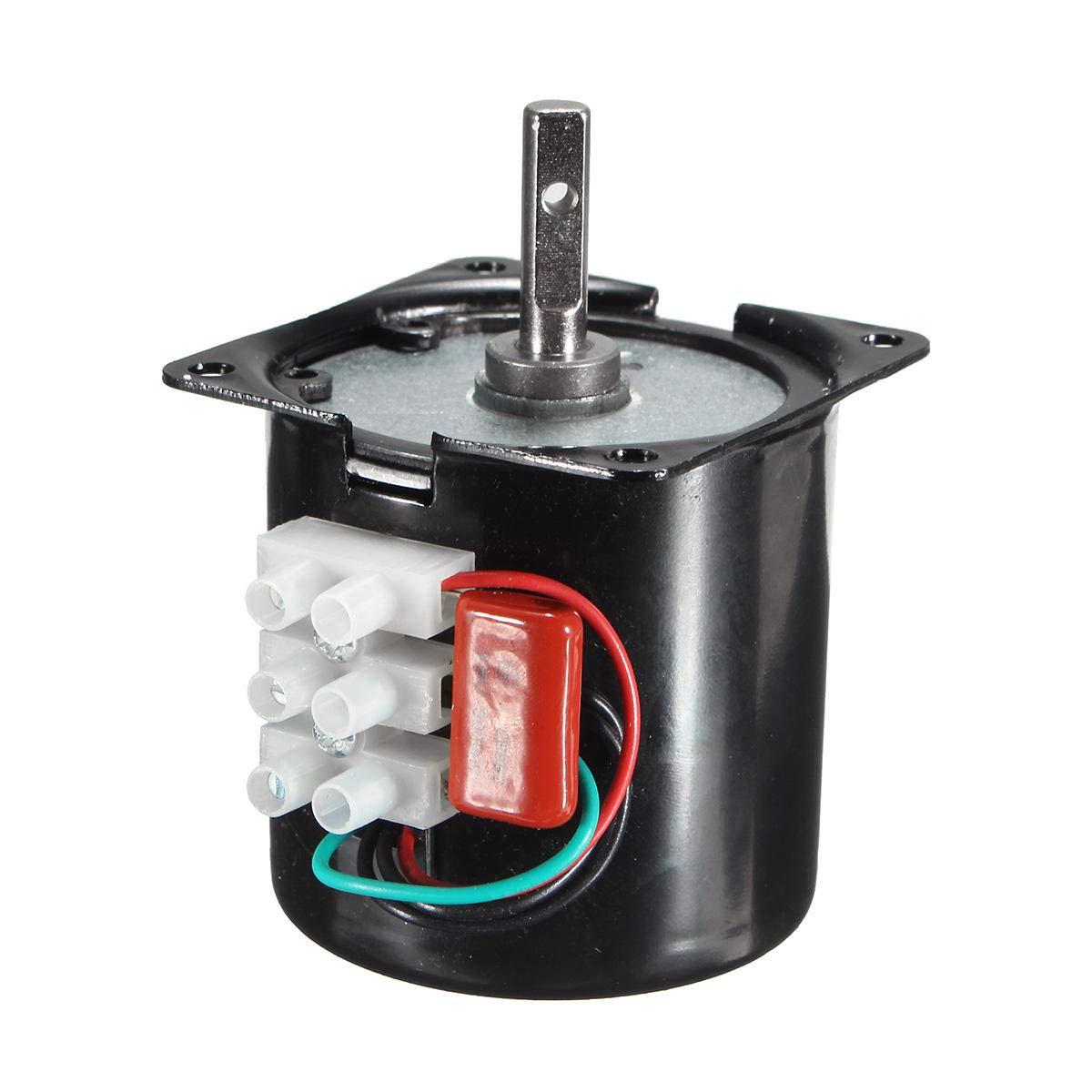 60KTYZ 220V 14W Permanent Synchronous Motor Machine 50Hz 110R/min - Arduino Compatible SCM & DIY Kits Smart Robot & Solar Panel - 1 x 60KTYZ Synchronous Motor