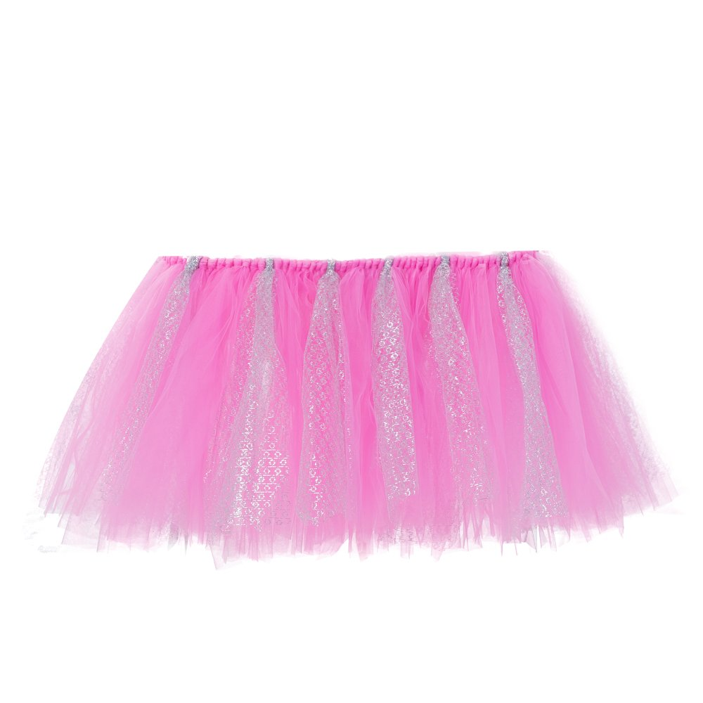 Estyle Fashion Soft Baby High Chair Birthday Tutu Skirt Tulle Cloth For Party Decoration Supplies
