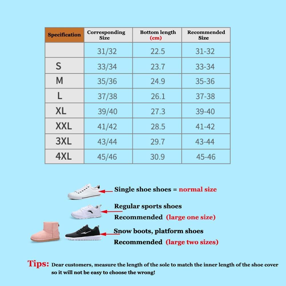 Reusable Men Women Kids Antid/érapant R/ésistant /à lusure Shoe Cover,Multifonctionnel dext/érieur Shoe Cover Quatre Saisons Disponibles XYZY Waterproof Shoe Cover//Silicone Shoe Cover