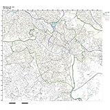 Richmond Virginia Zip Code Map.Amazon Com Large Street Road Map Of Richmond Virginia Va