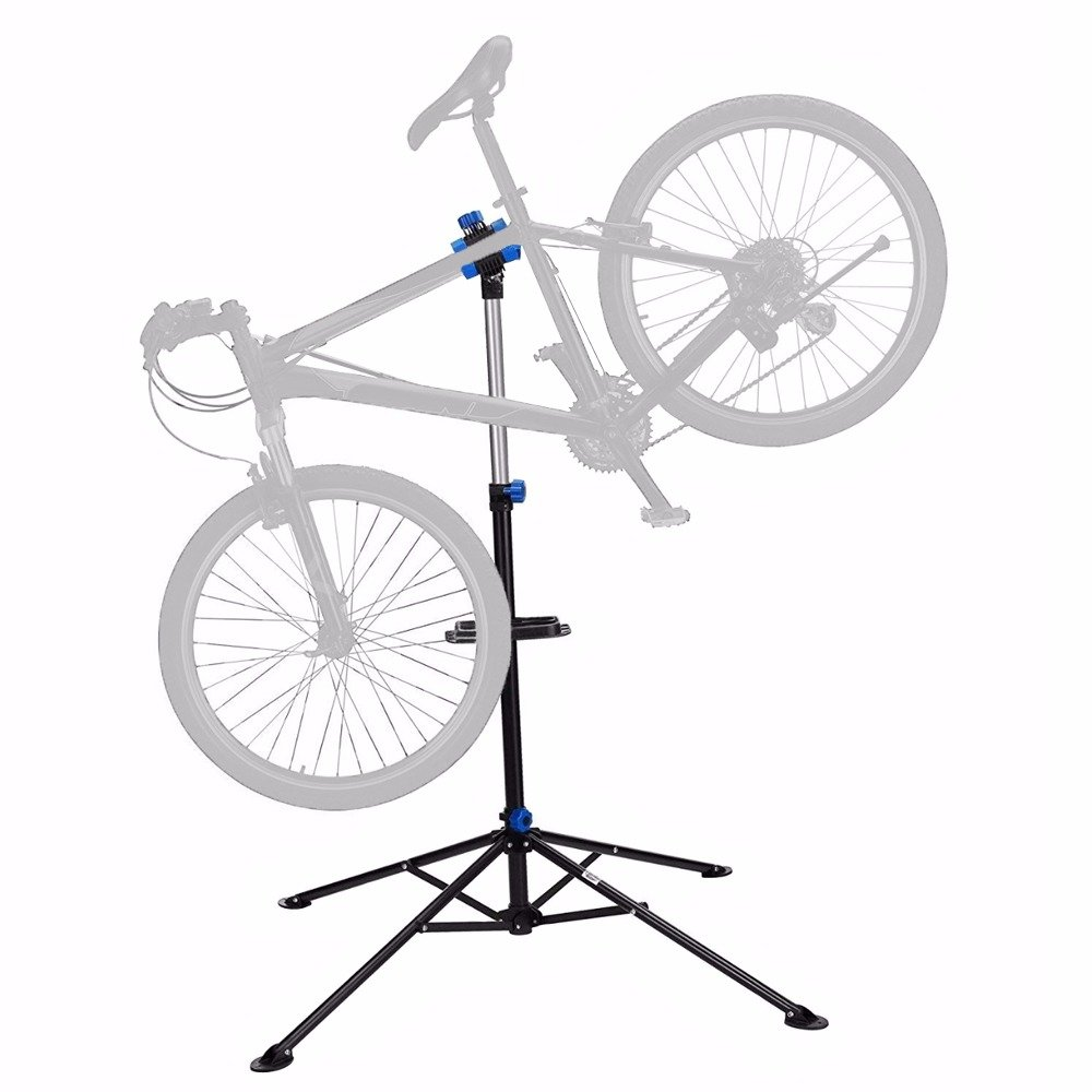 Bike Repair Stand Rack Foldable Cycle Bicycle Workstand Home Pro Mechanic Maintenance Tool Adjustable 41'' To 75'' With Telescopic Arm Clamp Lightweight and Portable by Noa Store (Image #4)