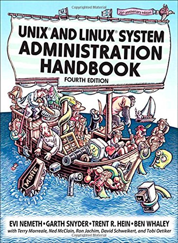 UNIX and Linux System Administration Handbook, 4th Edition by Prentice Hall