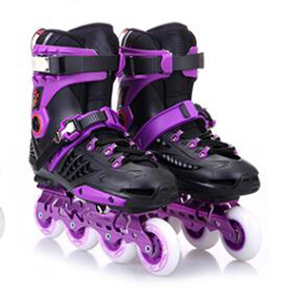 Inline Skates For Men Unisex Racing PP Material Purple , 36 by TX
