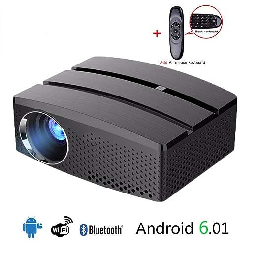QLPP Mini proyector portátil Full HD WiFi y Sistema de Cine ...