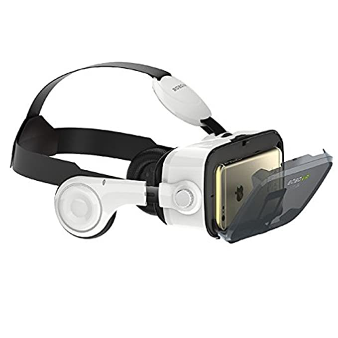 fa4575789a13 Amazon.com  Morjava BoBo VR Z4 3D VR GLASS Head Mount Virtual Reality 3d  Video Glasses for 4~6   Android iOS Smartphones 3d Movies Google Cardboard   Home ...