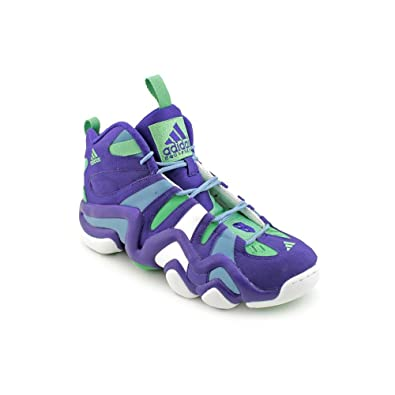 daaa4a756af6 adidas Crazy 8 Mens Purple Basketball Basketball Shoes Size 8 UK UK 8   Amazon.co.uk  Shoes   Bags