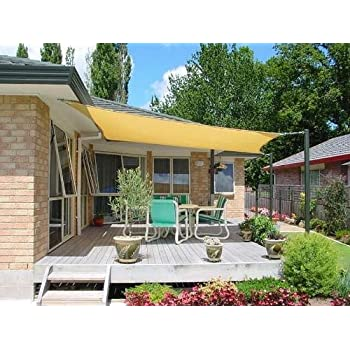 Attractive Petrau0027s 20 Ft. X 20 Ft. Square Desert Sand Sun Sail Shade. Durable