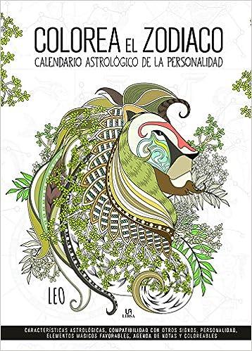 Calendario Zodiaco.Colorea El Zodiaco Calendario Astrologico De La