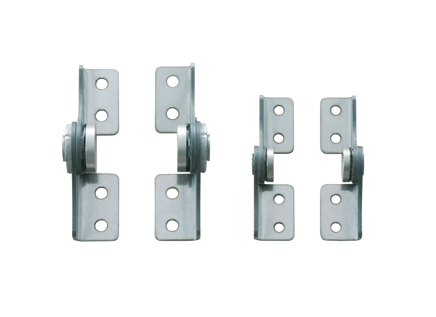 Pack of 1 Friction Hinge 2-5//8 Open Width Left Hand 1 Leaf Height 17.7 lbs//in Torque 430 Stainless Steel