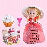 Coerni Cupcake Doll Toy for Girls, Surprise Doll Gift for Kids Girls