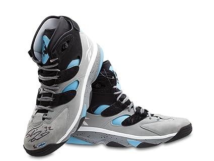 60b4d01f932 Shaquille O Neal Signed Autographed Shoes Reebok Shaq Attaq IV 16.5 10 UDA  COA