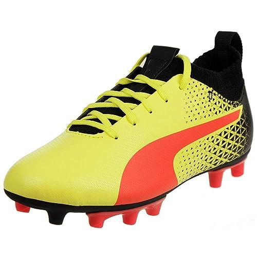 9755778dd9913d Puma Soccer Shoes Evoknit FTB FG JR Football Kids Junior 104547 02 ...
