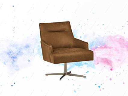 Groovy Amazon Com Guplus Mid Century Modern Swivel Top Grain Caraccident5 Cool Chair Designs And Ideas Caraccident5Info