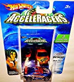 Hot Wheels AcceleRacers Teku #2 of 9 - Drift Tech (Orange spoiler version)