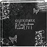 "Pioneer Photo Albums 200-Pocket Chalkboard Printed ""Remember"" Theme Photo Album for 4 by 6-Inch Prints"