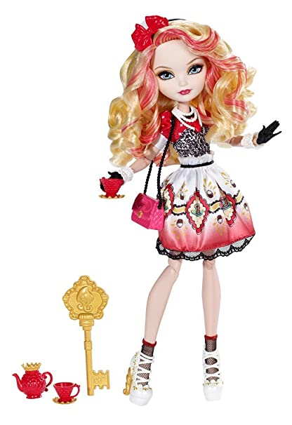 Ever After High Doll~Apple White~1st Chapter~Red /& Gold Bow Shoes