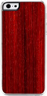 product image for CARVED Clear Wood Case for iPhone 5 - Padauk (I5-CC1F)