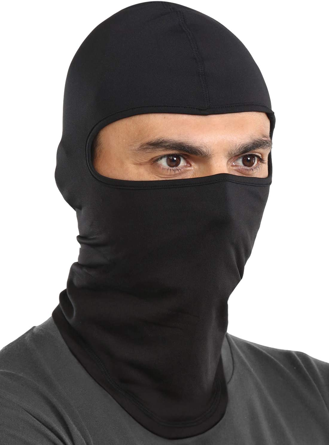 Balaclava Ski Mask - Cold Weather Face Mask for Men & Women - Windproof Hood Snow Gear for Motorcycle Riding & Winter Sports: Automotive