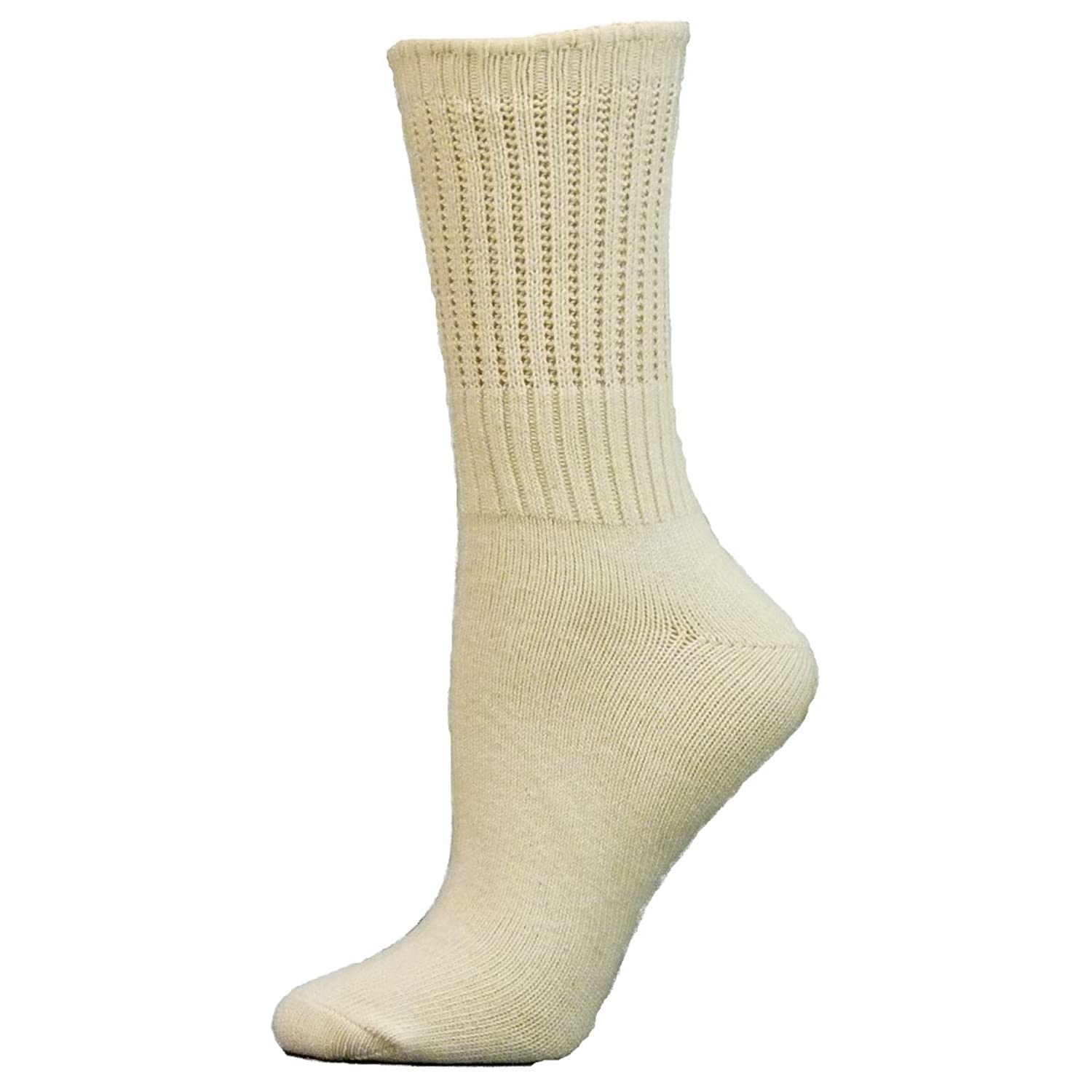 2 Brothers Nuby Organic Cotton Crew Womens Socks