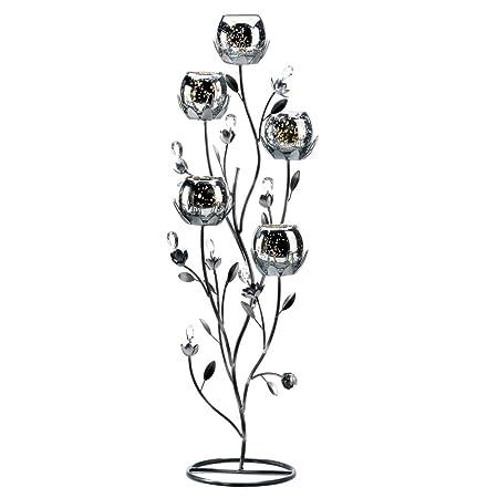 15 wholesale silver tulip tree candelabra wedding centerpieces 15 wholesale silver tulip tree candelabra wedding centerpieces junglespirit Images