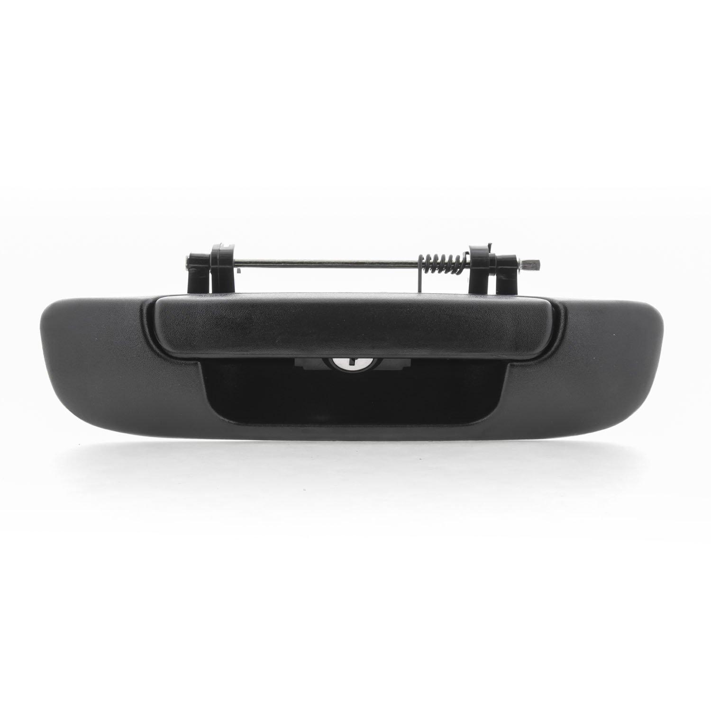 Pop /& Lock PL3300 Black Manual Tailgate Lock for Dodge Ram 1500//2500//3500