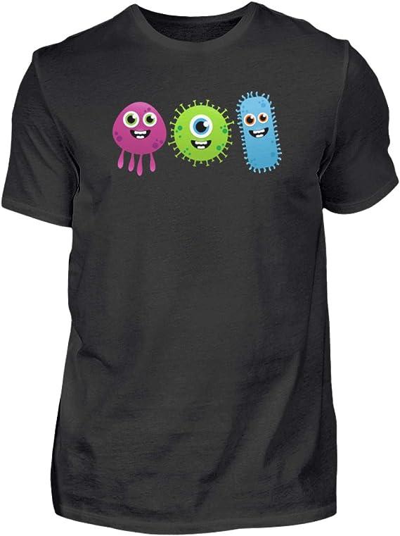 Comic Viren – Coronavirus Corona Virus Humor diversión Sarkasmus Sarkasmus Divertido diseño – Camiseta para Hombre