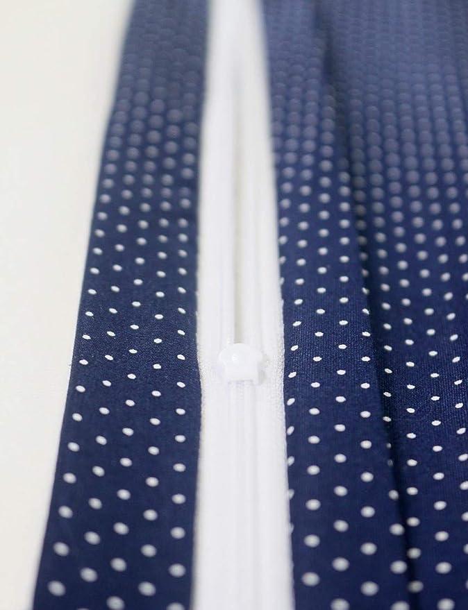Funda de almohada para beb/é de ULLENBOOM /® de 40/x/60 cm con menta gris con cremallera; apta tambi/én para cojines decorativos; dibujo:patchwork