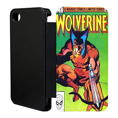 DC Marvel Comic Book Case Flip Tasche Cover für Apple iPhone 6 Plus – Wolverine – 922
