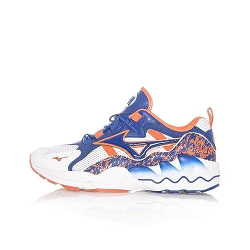 aebd2a9fda64 Mizuno Sneakers Uomo Wave Rider 1 D1GA192522 White: Amazon.co.uk: Shoes &  Bags