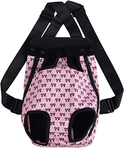 uxcell Pet Dog Carrier Adjustable Front Chest Backpack Pet Cat Puppy Tote Holder Bag Strap for Travel Outdoor Small//Medium//Large