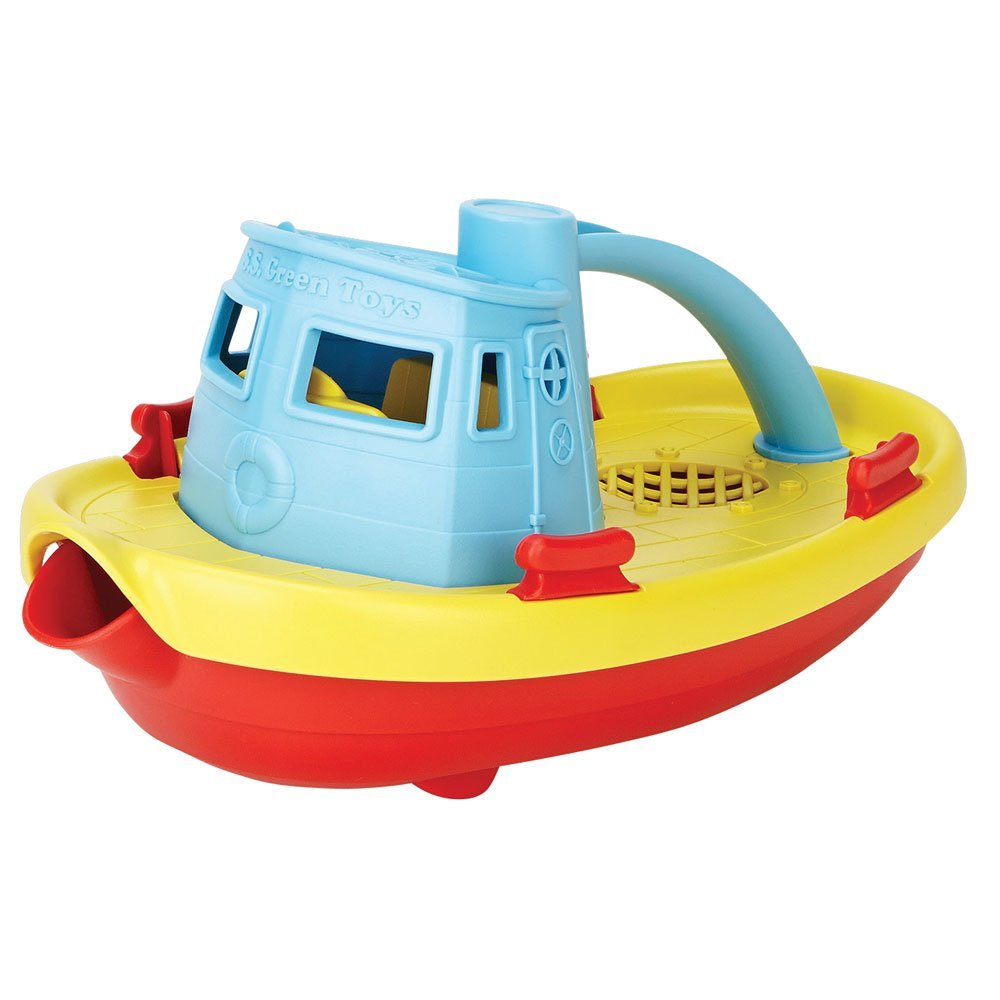 Green Toys My First Tug Boat, Blue