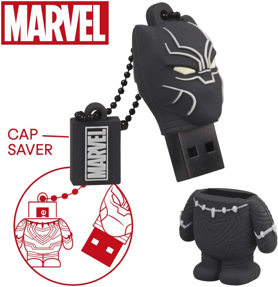 Llave USB 32 GB Black Panther - Memoria Flash Drive 2.0 Original ...