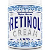 Retinol Cream Moisturiser for Face and Eyes, Use Day and Night - for Anti Ageing, Acne, Wrinkles - made with Natural and…
