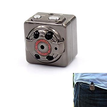 Mini cámara, PANNOVO SQ8 gran angular Mini DV 1080P Full HD H.264 12