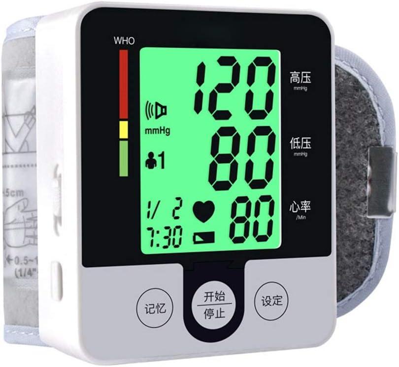 W-Master Muñeca Monitor de presión Arterial, un Solo botón de medición utilización de Edad Avanzada sin Problemas, Cambios en la presión Arterial Maestros, Miembros de la Familia están más a Gusto