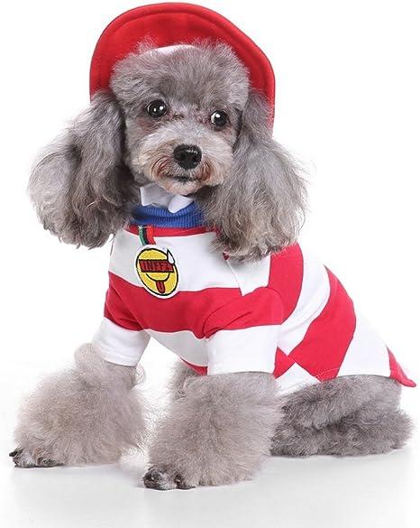 Ranphy Disfraz Perros pequeños Disfraces de Navidad Camisa de ...