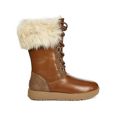 UGG Women s Aya Waterproof Boot Chestnut Size 5 B(M) US f4fea5e3eb
