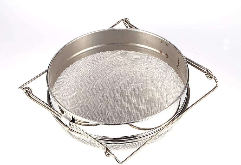 in acciaio INOX grande con filtro a doppio miele e filtro Filtro per miele Zerone