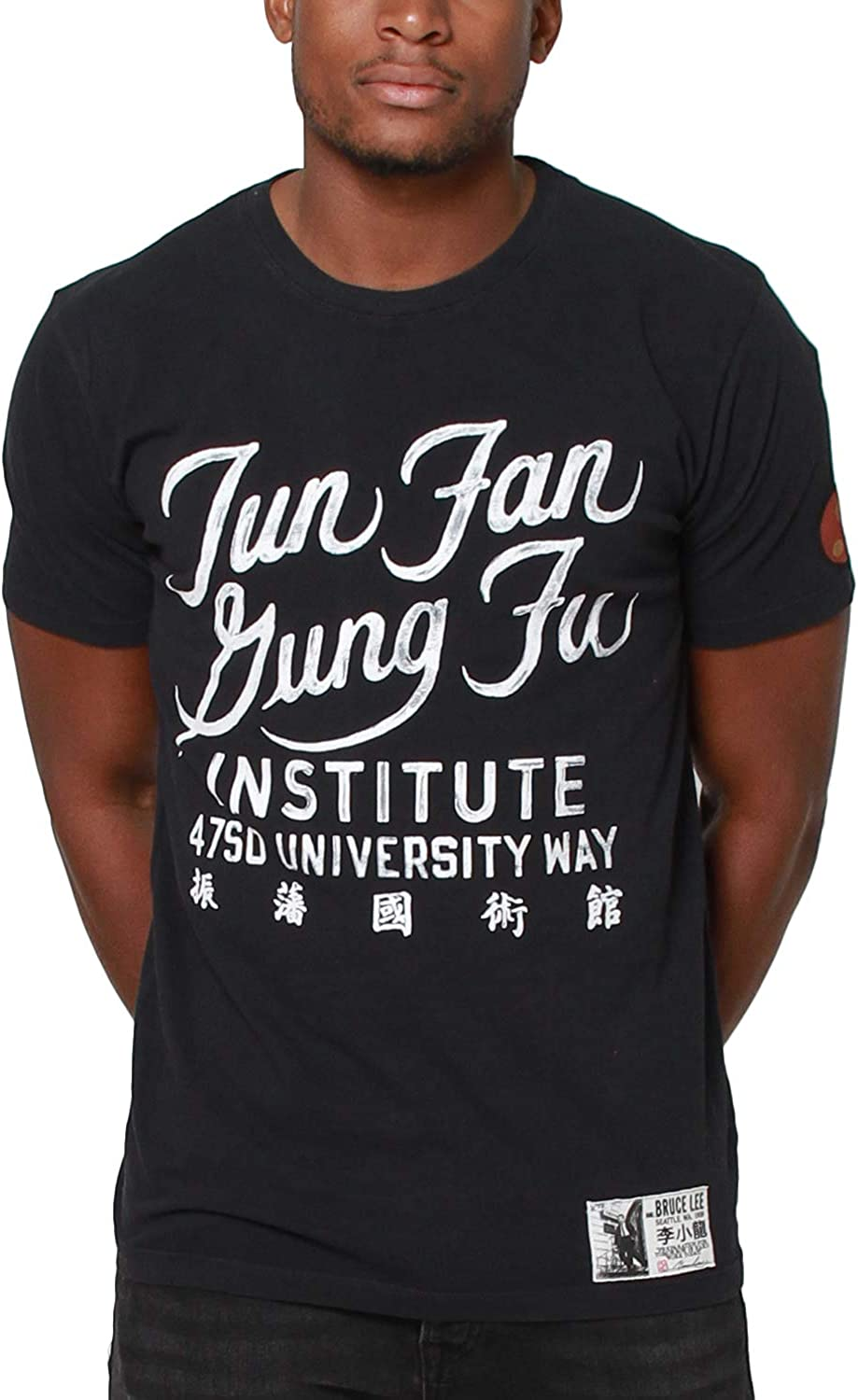 Bruce Lee FIGHTER Licensed Adult T-Shirt All Sizes