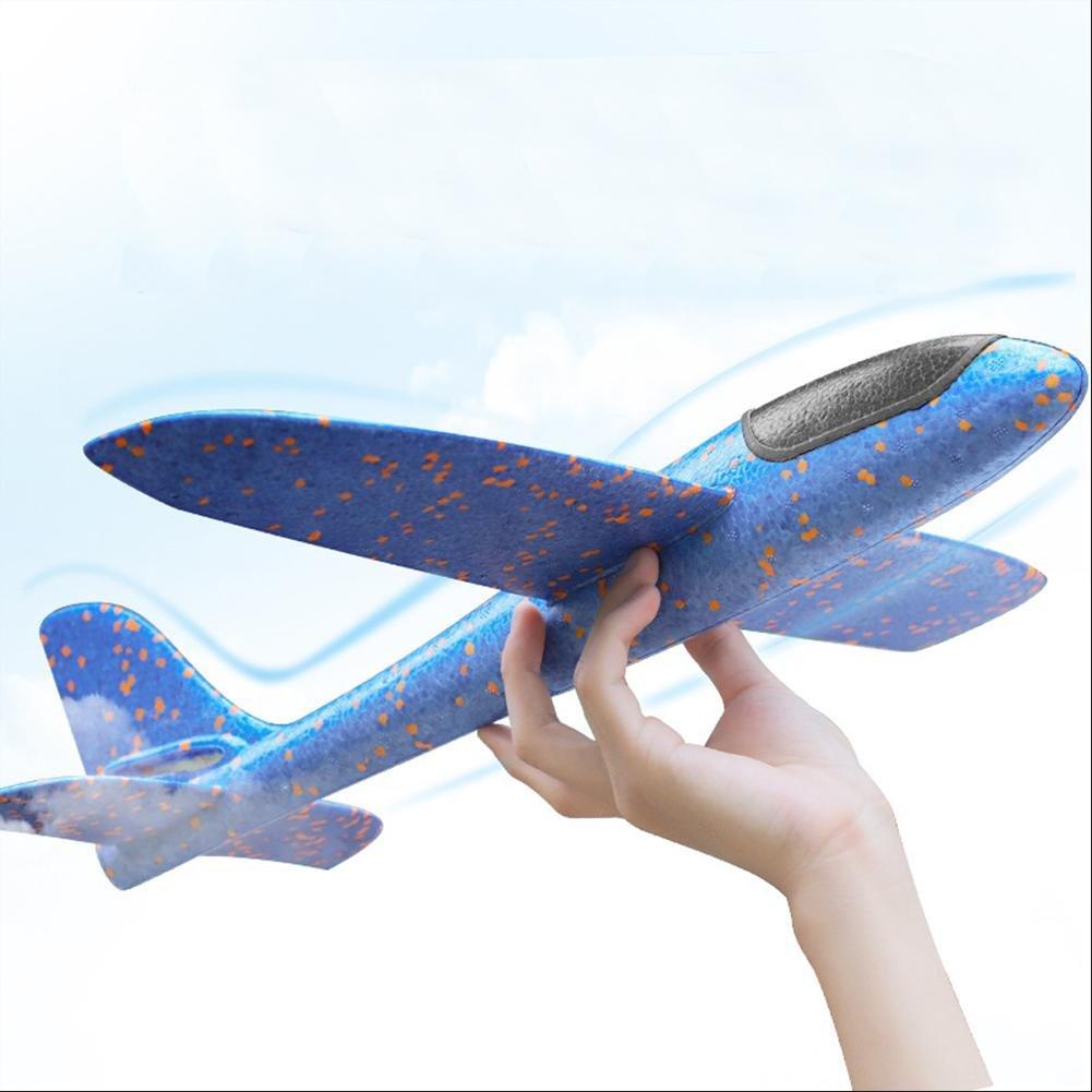 3pcs avión planeador glider avion juguete infantil, planeadores de espuma EPP, buena flexibilidad y resistencia al impacto, puede doblarse, no es ...