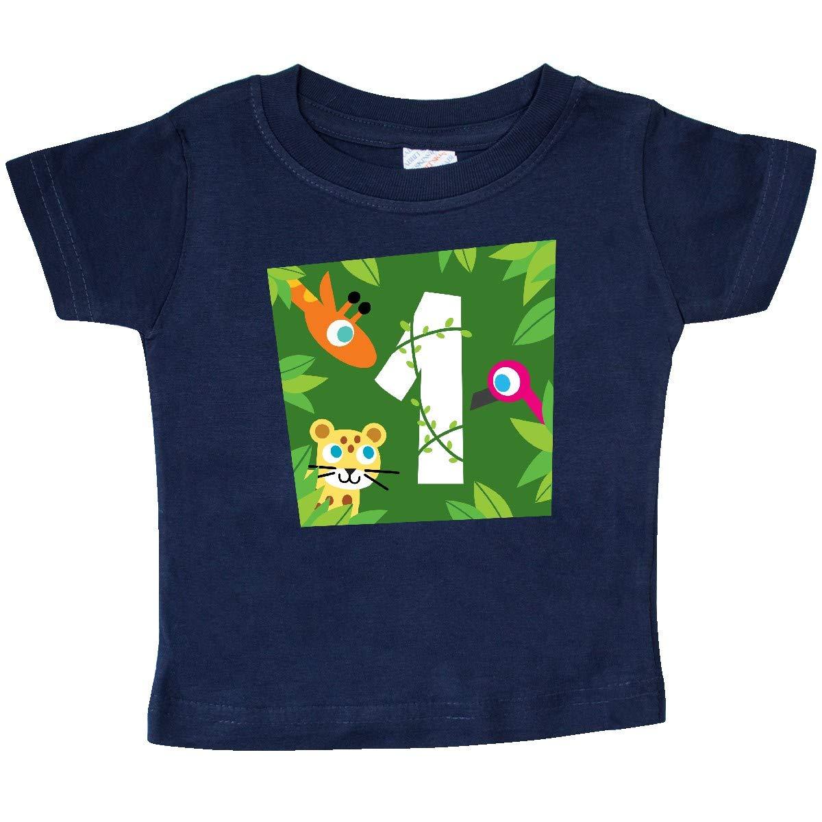 PBS Kids inktastic Zoo Animals 1st Birthday Baby T-Shirt