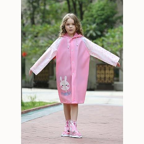 597944770d YYL Impermeabili per bambini, impermeabile Impermeabile per bambini con  sacchetto impermeabile Impermeabile bambino Poncho impermeabile