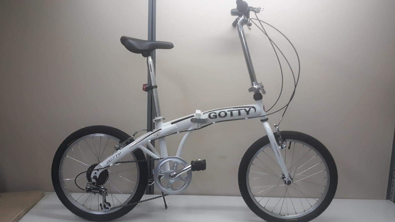 Gotty Bicicleta Plegable Camel, Acero 20\