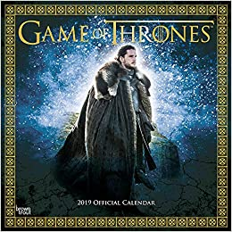 Game of Thrones 2019 Square Wall Calendar: George R.R. ...