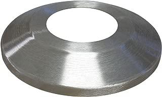 "product image for Standard Profile Aluminum Flash Collar- Silver, 4"" Pole Diameter, 12"" Outside Diameter"