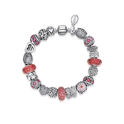 4beb560db Mestige Jewellery Siren Bracelet with Swarovski® Crystals: Amazon ...