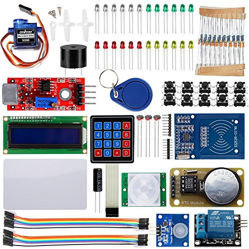 Security Module - OSOYOO 2018 RFID Security Master Starter Kit for Arduino UNO R3 Mega2560 Basic Learning DIY (18 components included)