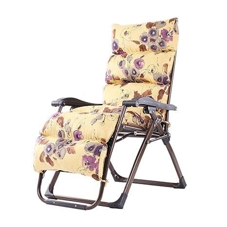 GWW Tumbonas de jardín, Ajustable Plegable sillas tumbonas ...